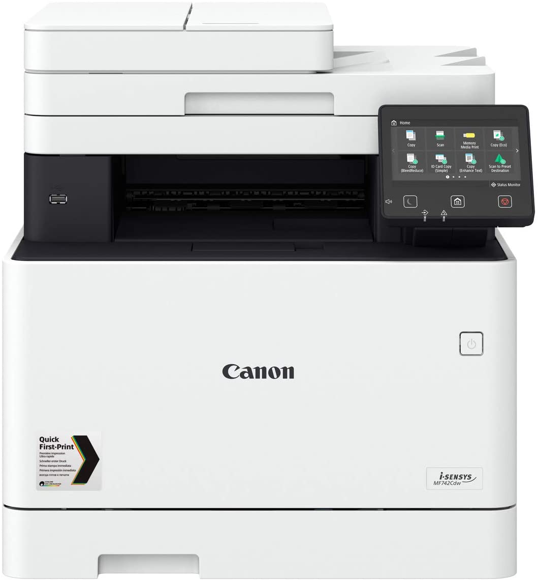 Canon i-SENSYS MF742Cdw 3-in-1 Colour Laser Printer