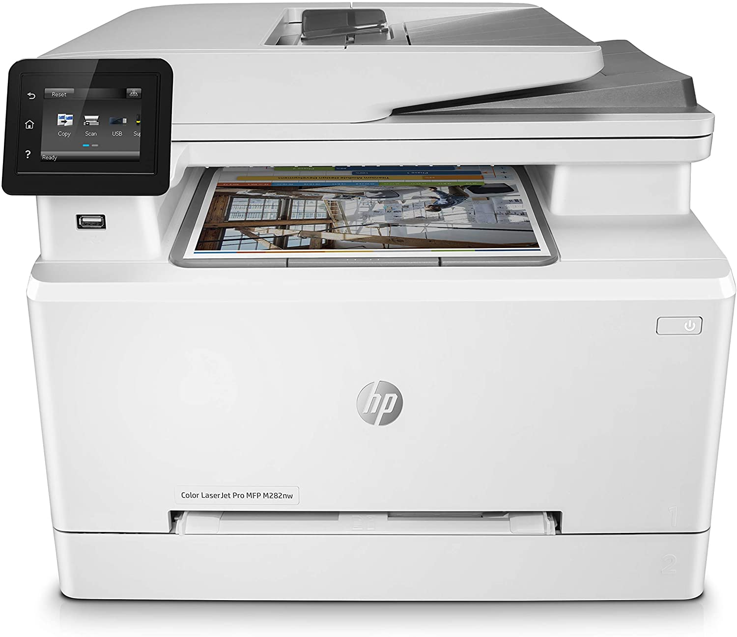 HP COLOR LASERJET PRO MFP M282NW 21PPM IN A4