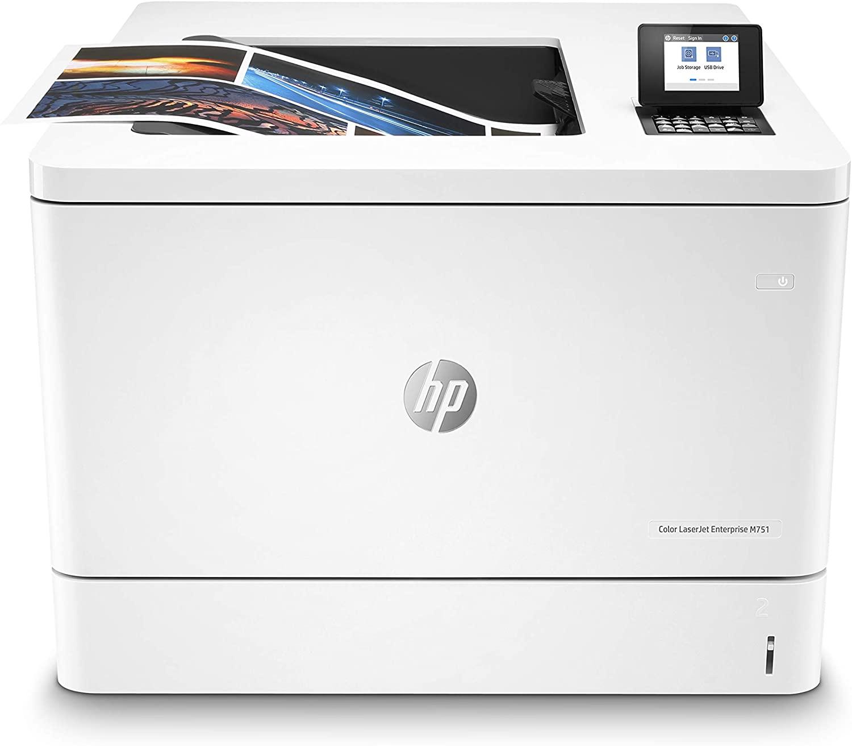 HP Color LaserJet Enterprise M751dn Color Laser MFP, New (T3U44A)