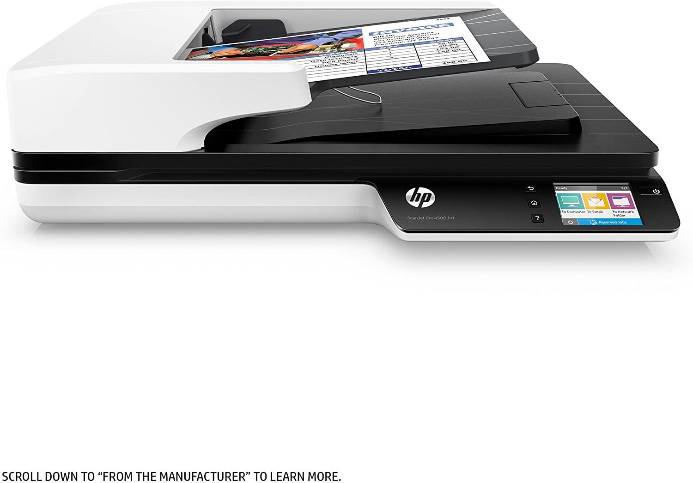 HP ScanJet Pro 4500 fn1 Network OCR Scanner