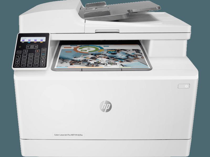 HP Color LaserJet Pro M183fw Wireless All-in-One Laser Printer