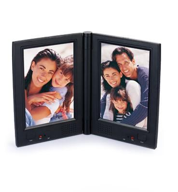 Talking Photo Frame - dual photos RE-9938