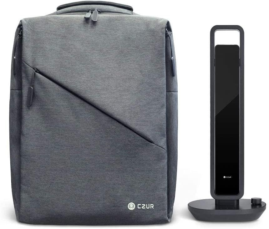 CZUR Aura Backpack for Business and School with Splash Resistance Design Ultra-light Laptop Bag