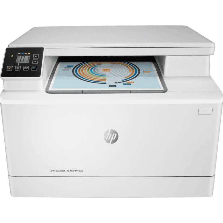 HP Color LaserJet Pro MFP M182n Printer (7KW54A)