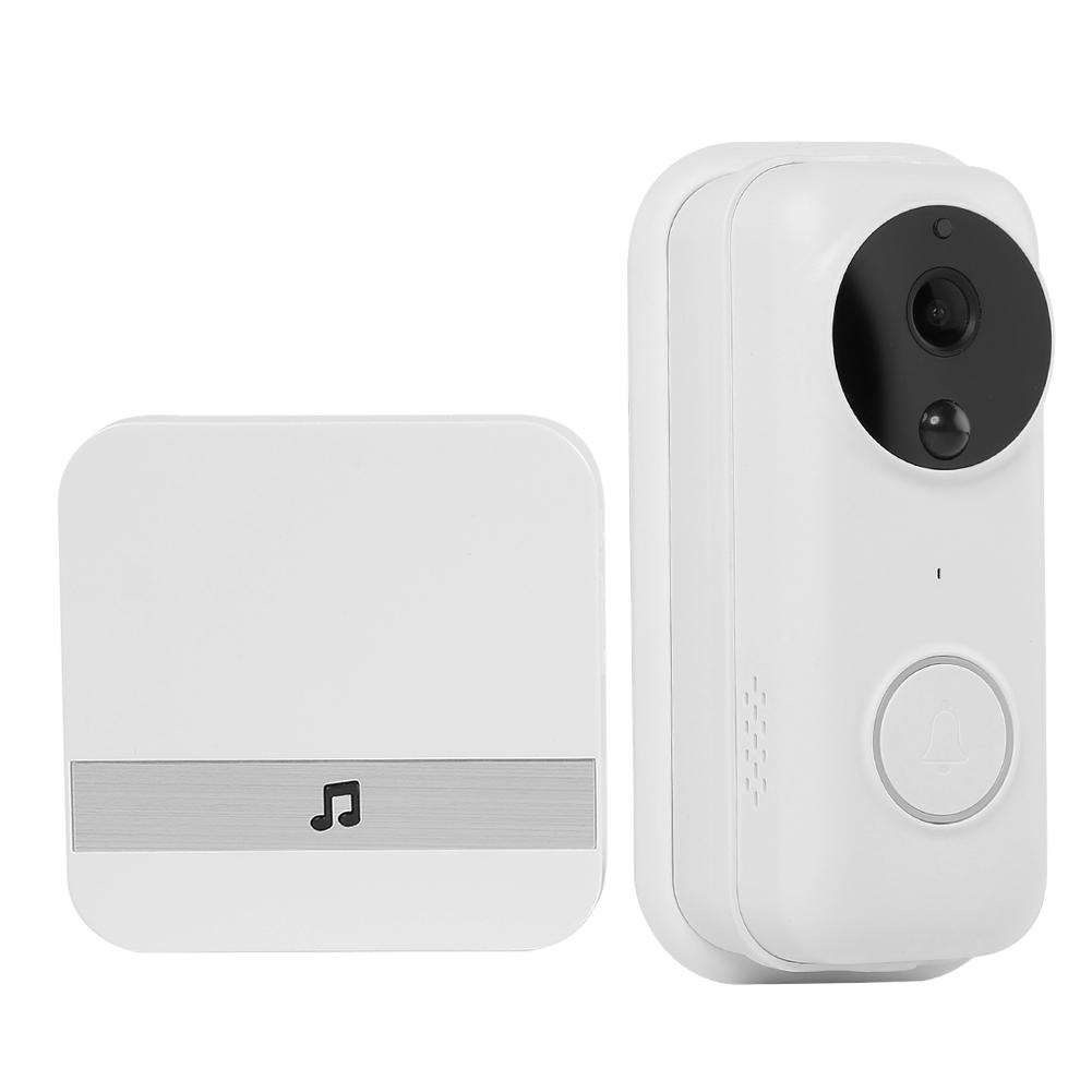 Anytek B70 WiFi Video Doorbell FHD 1080P Door Bell Camera+2 Batteries+Chime