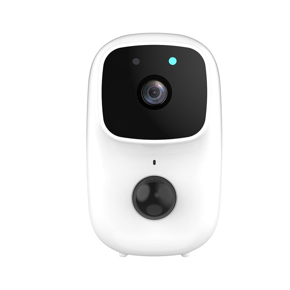 Anytek B90 Tuya Smart 1080P WiFi IP Camera PIR Low Power Cloud Storage 170° Wide Range Night Vision Waterproof Video Talk-back Doorbell Monitoring Wireless Monitor+Chime