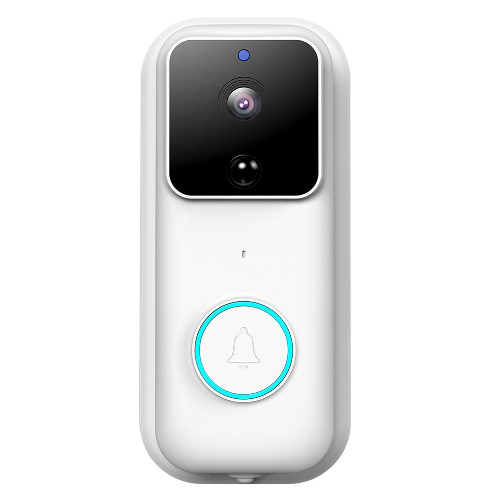 Anytek B60 Video Doorbell PIR Motion Sensor Door Bell Camera+2 Batteries+Chime