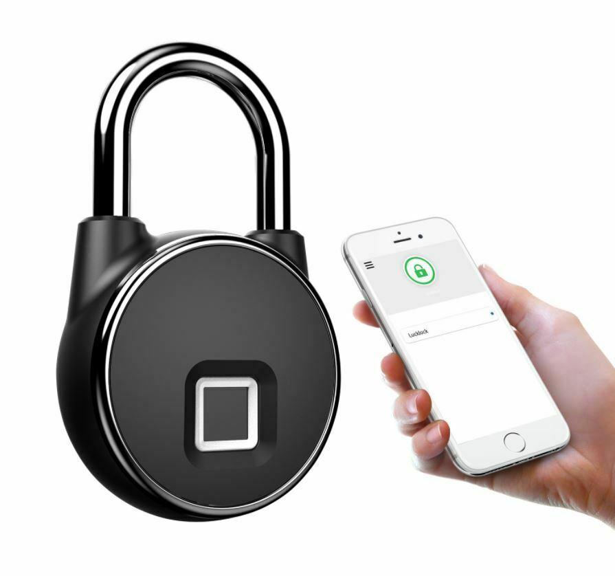 Anytek P22+ Bluetooth Fingerprint Padlock Two Ways Unlock