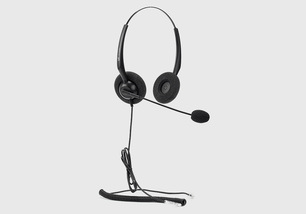 VT1000 Wired Headset Duo
