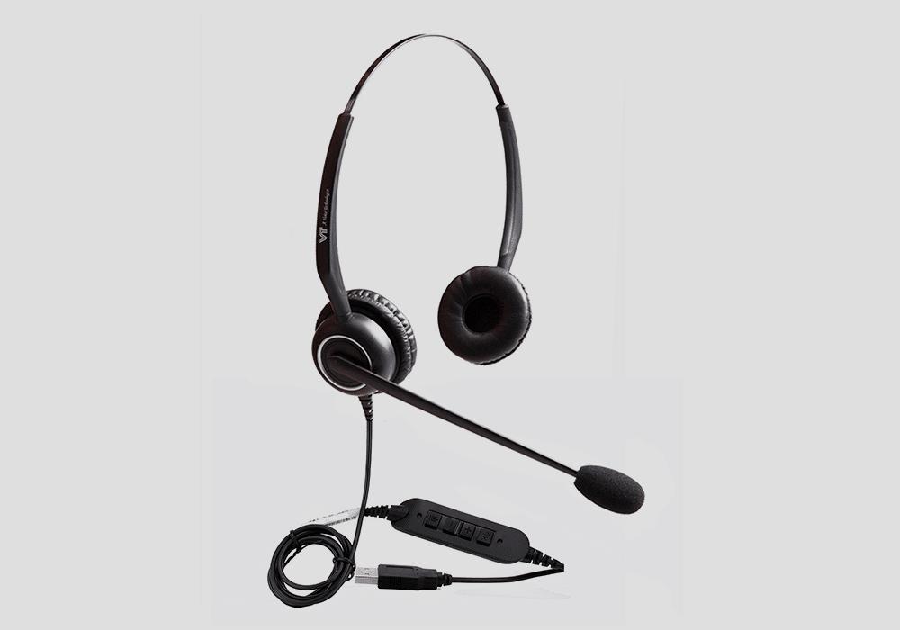 VT5009 USB Headset Duo